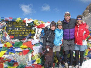 top of the Thorung La pass